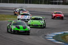 Porsche Sports Cup Deutschland - 1. Lauf Hockenheimring 2021 - Foto: Gruppe C Photography; Lausberg