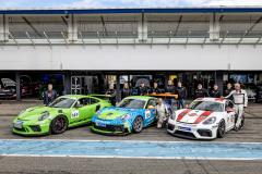 Porsche Sports Cup Deutschland - 6. Lauf Hockenheimring 2021 - Foto: Gruppe C Photography